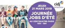 Trouver un job d'été le 21 mars à Paris